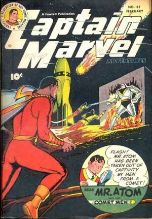 Captain Marvel Adventures Vol 1 81