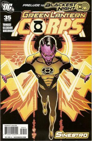 Green Lantern Corps Vol 2 35