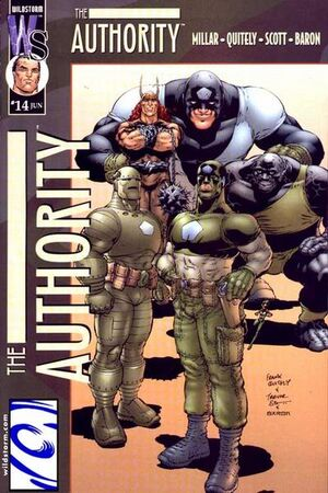 Cover for The Authority #14 (2000)