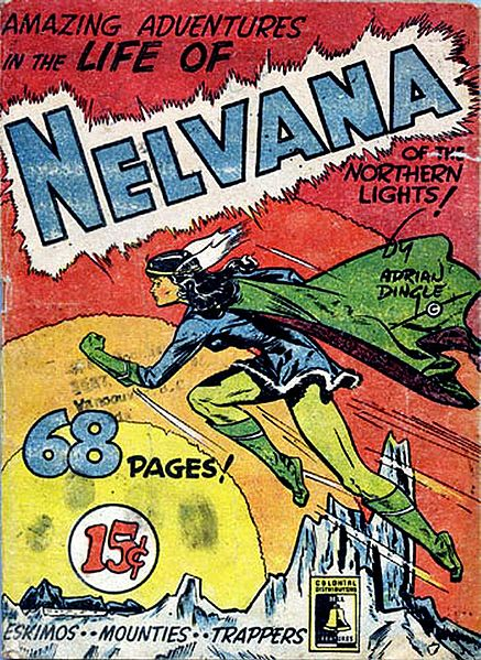 nelvana of the northern lights hey kids comics wiki