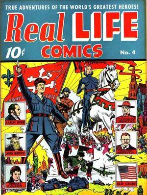 Real Life Comics Vol 1 4
