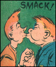 Clancy & Looney Kissing (Earth-MLJ) of Jackpot Vol1 02