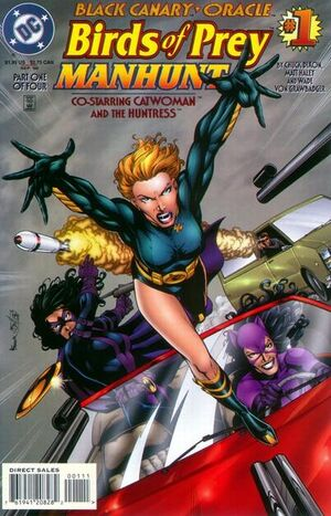 Birds of Prey Manhunt Vol 1 1