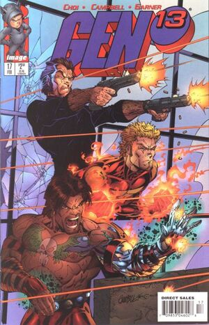 Cover for Gen¹³ #17 (1997)