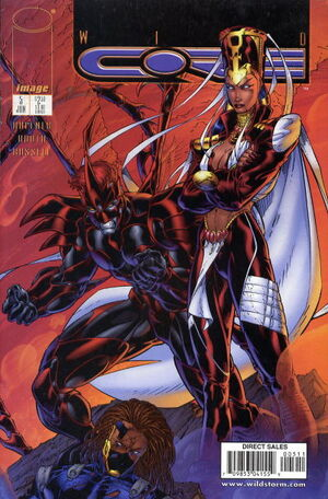 Cover for Wildcore #5 (1998)