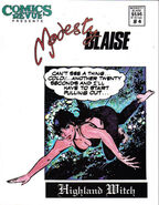 Comics Revue Presents Modesty Blaise Vol 1 4
