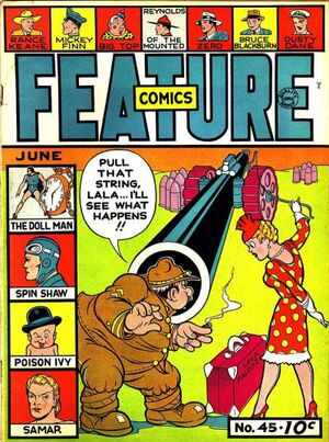 Feature Comics Vol 1 45