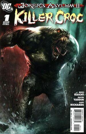 Joker's Asylum II Killer Croc Vol 1 1