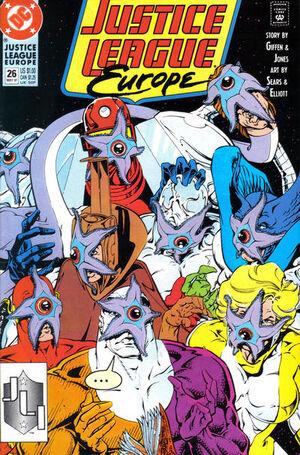 Justice League Europe Vol 1 26