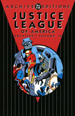 Cover for the Justice League of America Archives Vol 10  Trade Paperback
