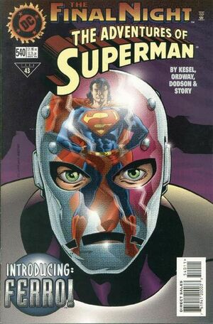 Adventures of Superman Vol 1 540