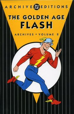 Cover for the The Golden Age Flash Archives Vol 1 2 Trade Paperback