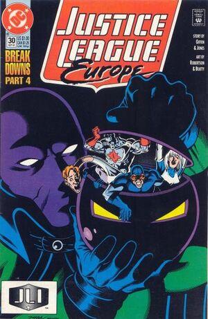 Justice League Europe Vol 1 30