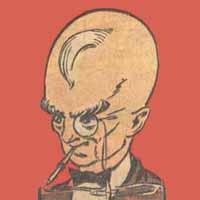 Claw (Earth-MLJ) from Pep Comics 7