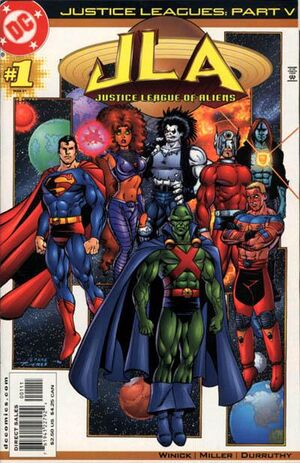 Justice Leagues Justice League of Aliens Vol 1 1