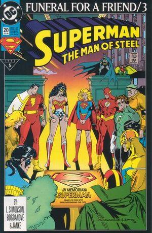 Superman Man of Steel Vol 1 20