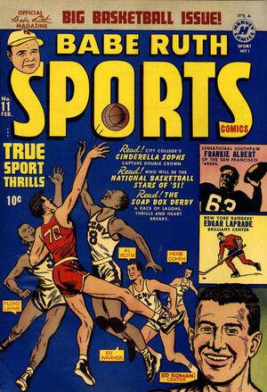 Babe Ruth Sports Comics Vol 1 11