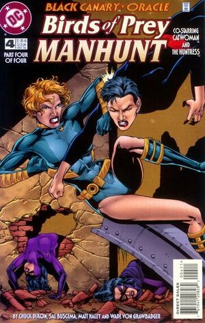 Birds of Prey Manhunt Vol 1 4