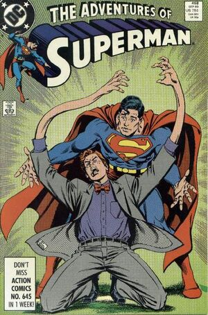 Adventures of Superman Vol 1 458