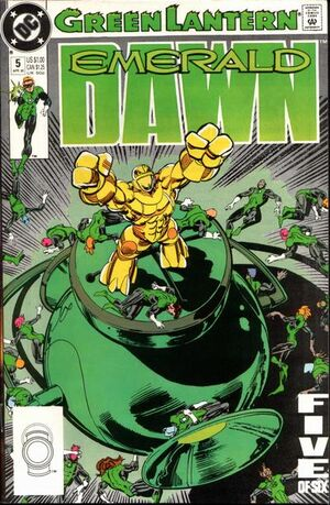 Green Lantern Emerald Dawn Vol 1 5
