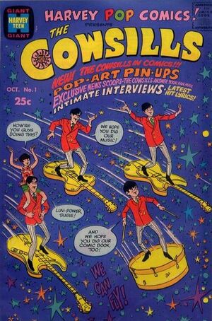 Harvey Pop Comics Vol 1 1