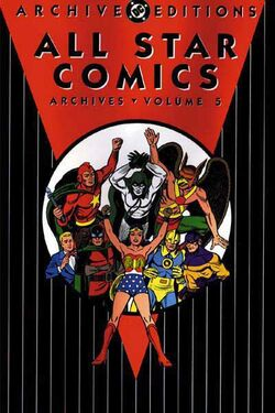 Cover for the All-Star Comics Archives Vol 1 5 Trade Paperback