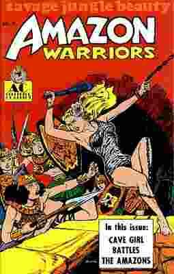 Amazon Warriors Vol 1 1