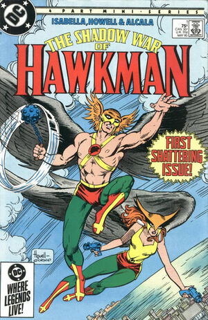 Shadow War of Hawkman Vol 1 1