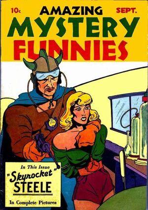 Amazing Mystery Funnies Vol 1 2