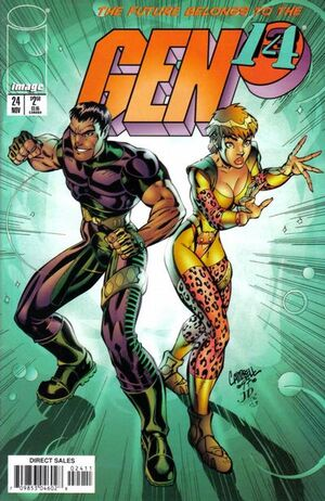 Cover for Gen¹³ #24 (1997)