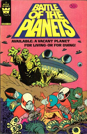 Battle of the Planets Vol 1 10 Whitman