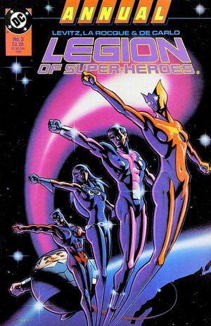 Legion of Super-Heroes Annual Vol 3 3