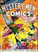 Mystery Men Comics Vol 1 2