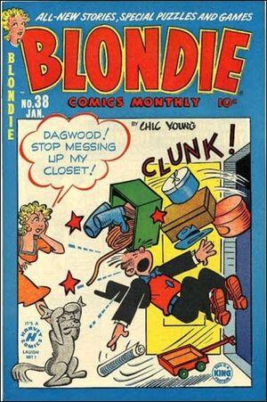 Blondie Comics Vol 1 38