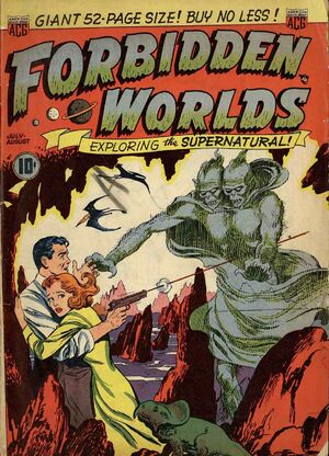 Forbidden Worlds Vol 1 1