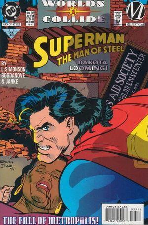 Superman Man of Steel Vol 1 35