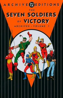 Cover for the Seven Soldiers of Victory Archives Vol 1 1 Trade Paperback