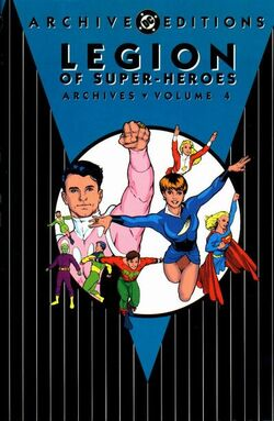 Cover for the Legion of Super-Heroes Archives Vol 1 4 Trade Paperback