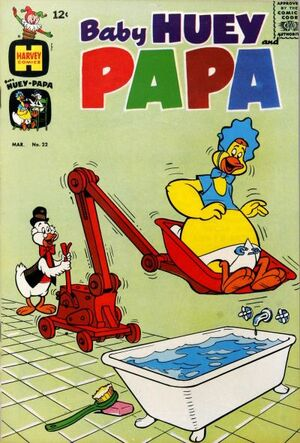 Baby Huey and Papa Vol 1 22