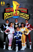 Saban's Mighty Morphin Power Rangers Graphic Album Vol 1 1
