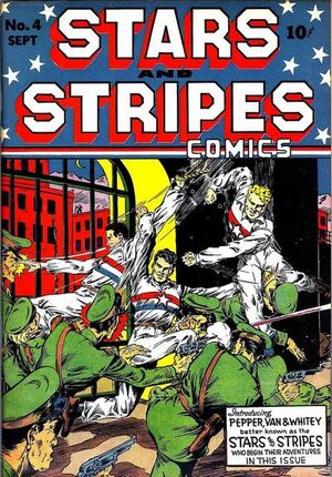Stars and Stripes Comics Vol 1 4