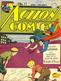 Action Comics Vol 1 71
