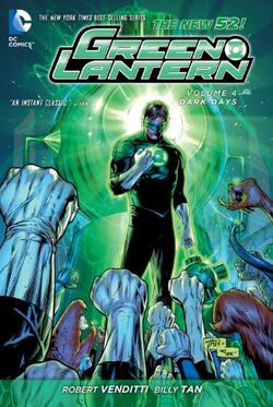 Cover for the Green Lantern: Dark Days  Trade Paperback