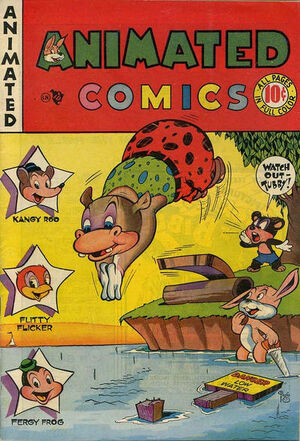 Animated Comics Vol 1 1