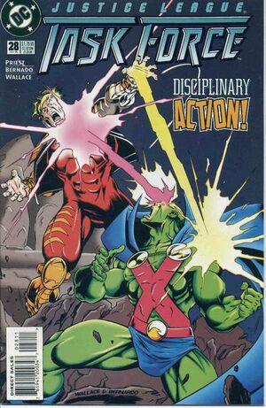 Justice League Task Force Vol 1 28