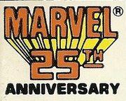 Marvel 25th Anniversary (Brand Emblem)