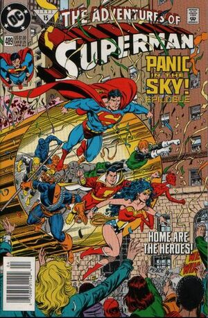 Adventures of Superman Vol 1 489