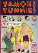 Famous Funnies Vol 1 3