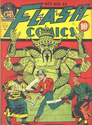 Flash Comics Vol 1 22