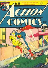 Action Comics Vol 1 29